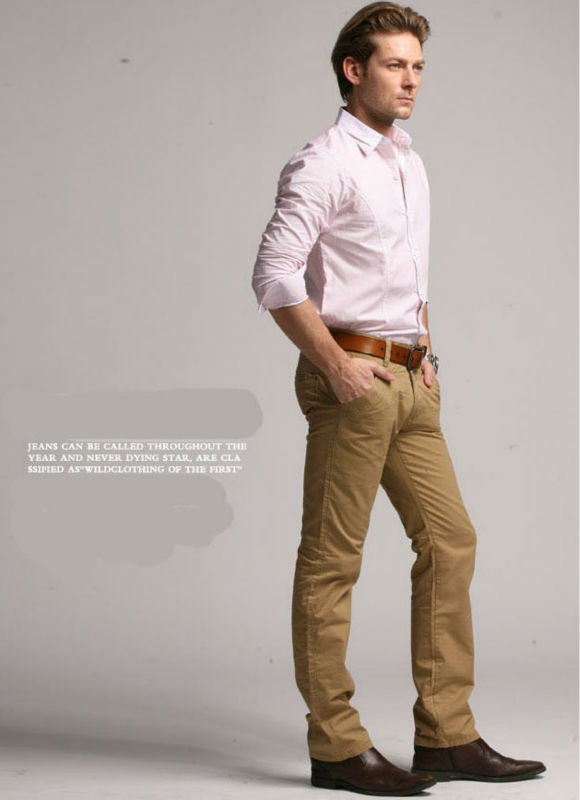 what to wear with khaki pants for men - Pi Pants